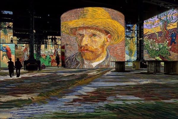 Van Gogh Atelier des Lumières