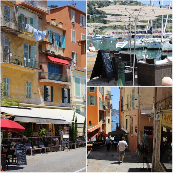 Villefranche Badplaatsen rund um Nizza