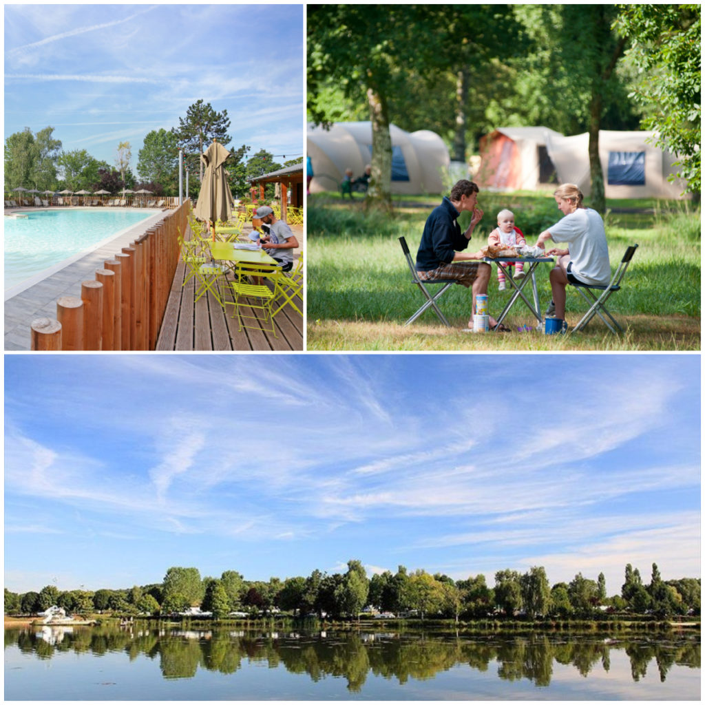camping Bourgogne Huttopia étang fourché
