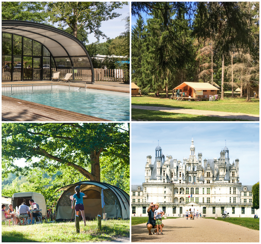 camping Les Chateaux Chambord Huttopia