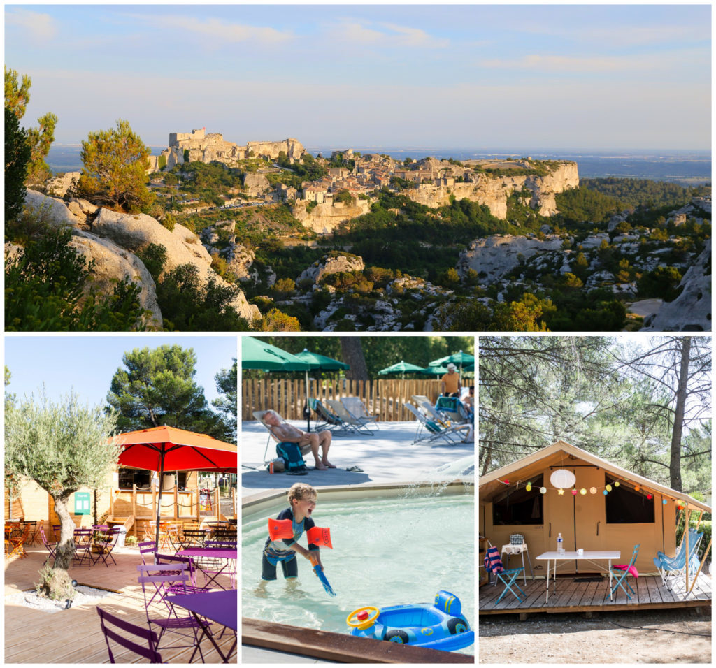 Camping Provence Fontvieille Huttopia