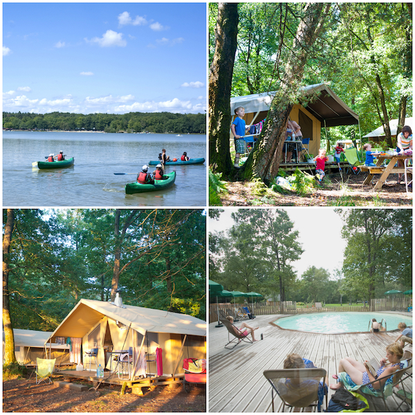 camping Sillé Huttopia