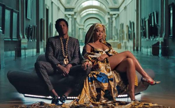 Clip Beyonce Jay-Z Louvre