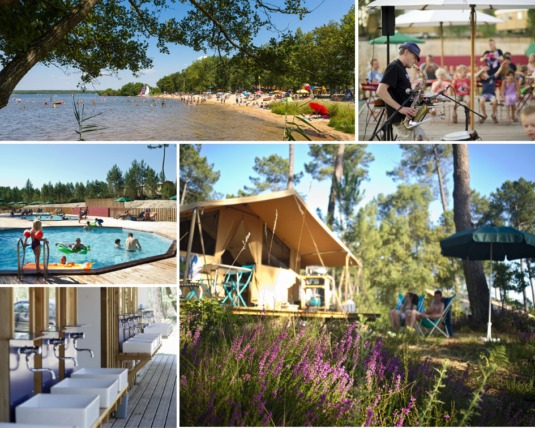 Camping Huttopia Lac de Léon Landes Sud
