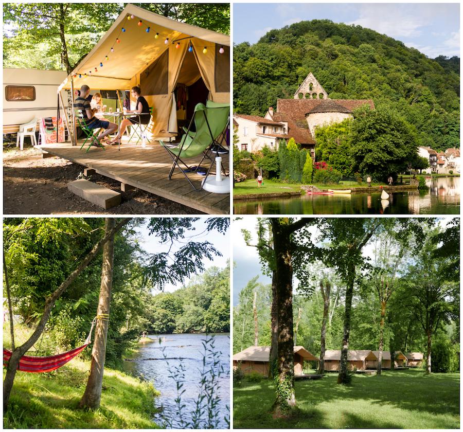 Beaulieu sur Dordogne camping Provence