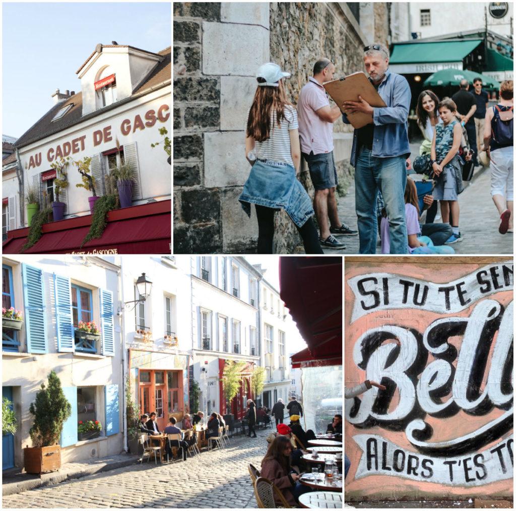 Montmartre Viertel