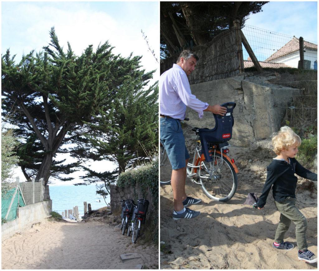 Noirmoutiers Radfahren Insel Frankreich