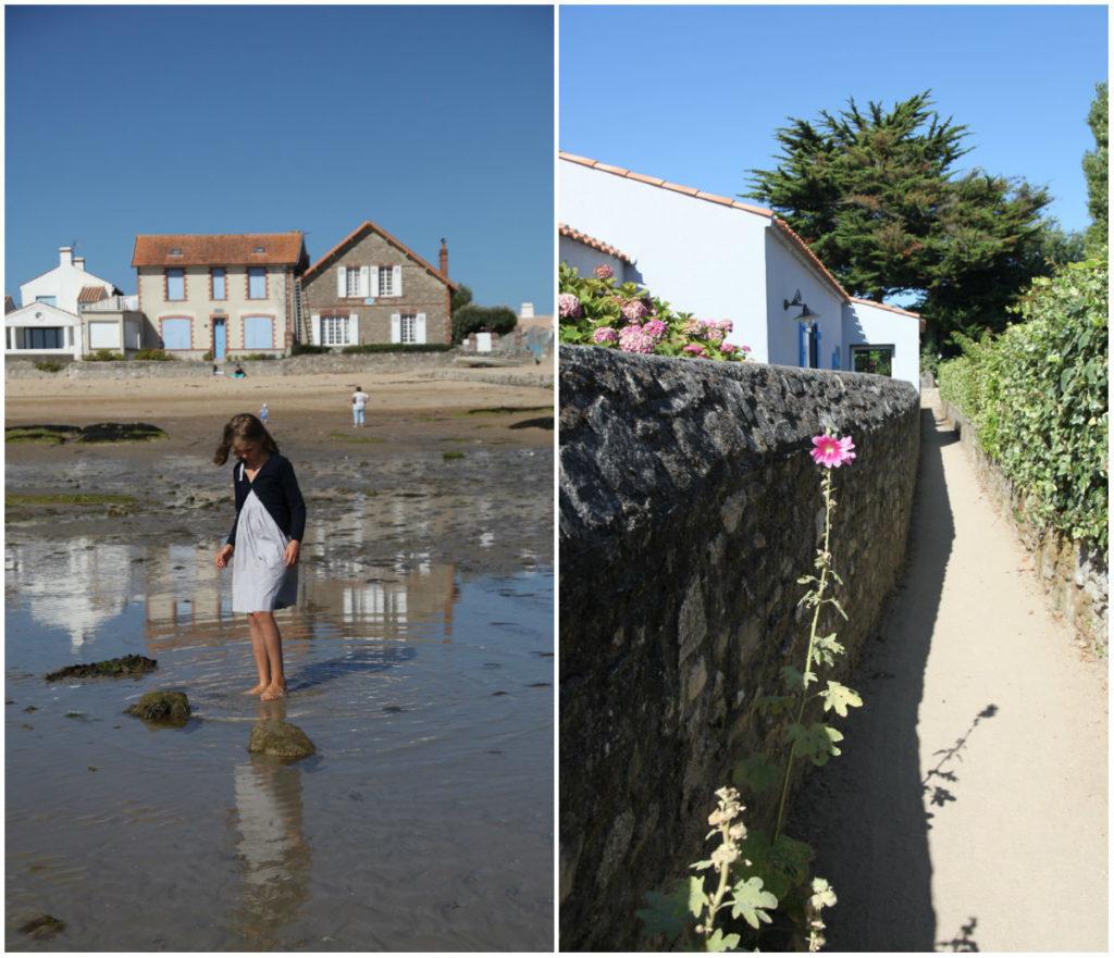 Noirmoutiers Fischerdorf Insel Frankreich