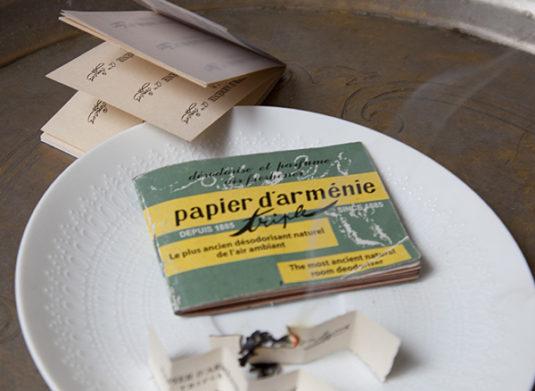 Duftpapiere Papier d'Arménie
