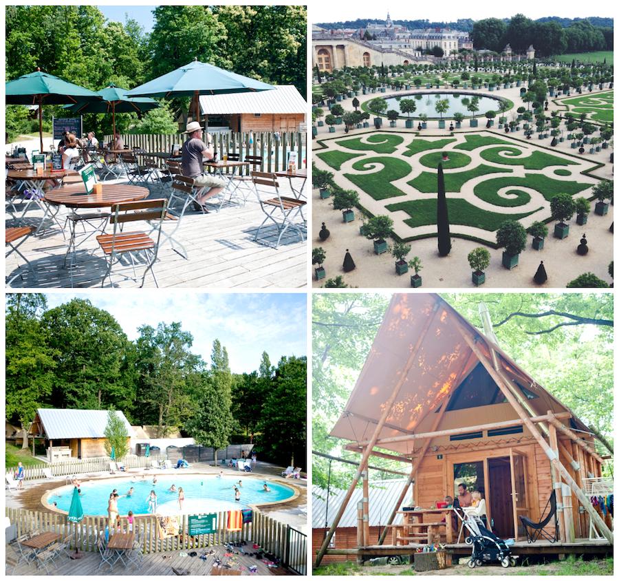 Familien-Campingplätze Huttopia Versailles Ile de France