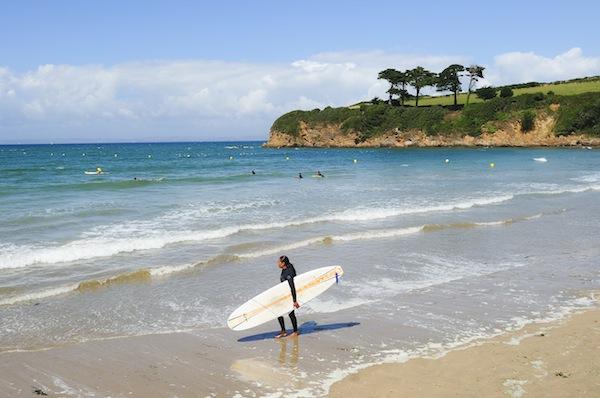 Plage du Ris - Surfen in Bretagne
