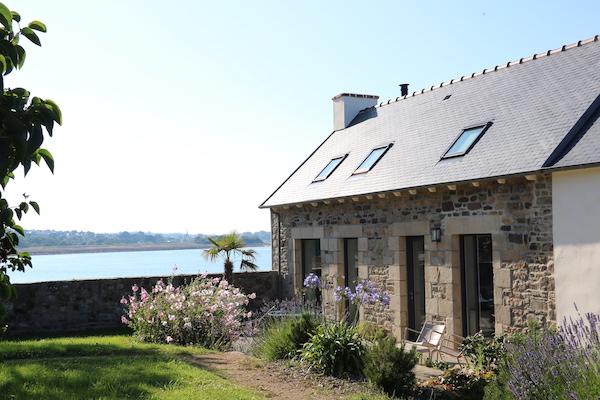 Ferienhaüser Bretagne Garten