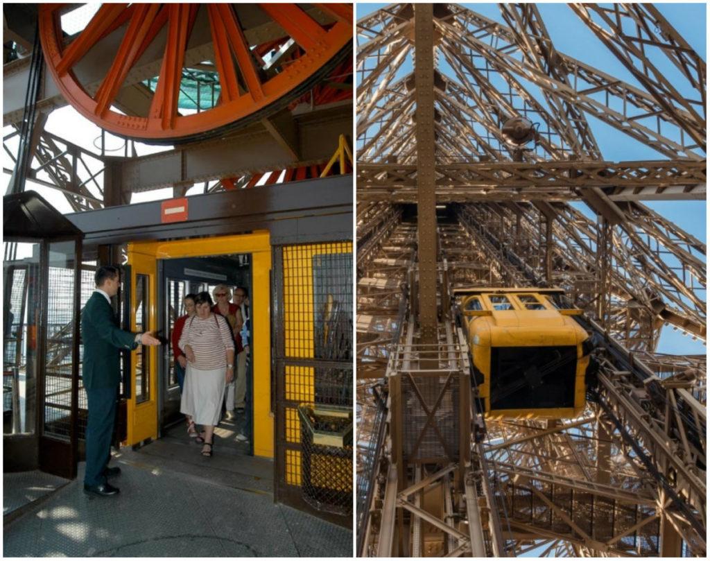 lift Eiffelturm