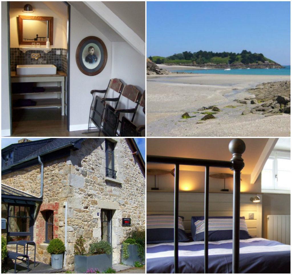 Bretonische Häuschen La Belle Noé les maisons du bord de Mer Bretagne