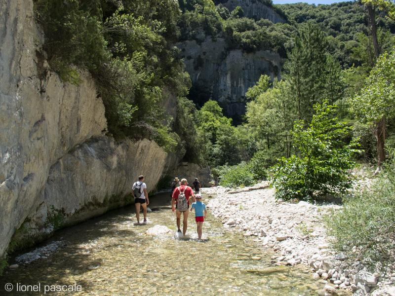 Wandern Les Gueulards Drôme