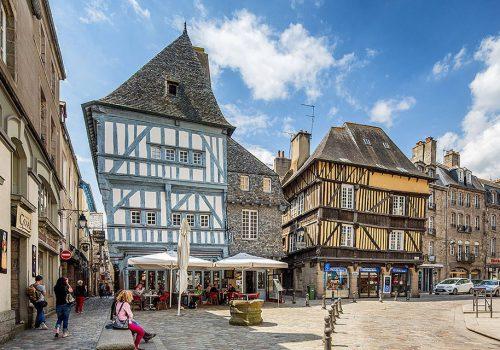 Bretagne Dinan Bourg