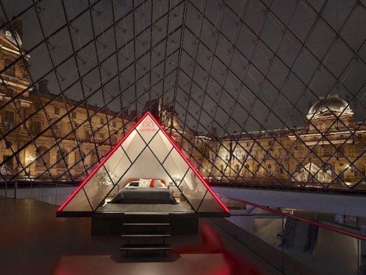 Eine Nacht mit Mona Lisa in Paris