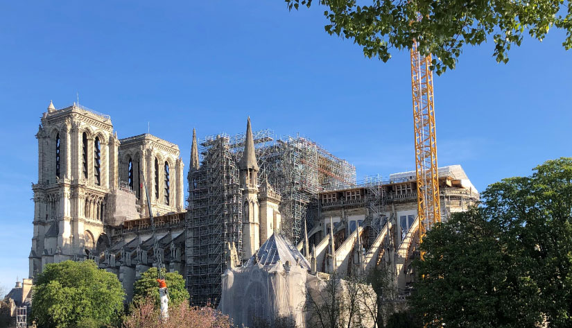 Notre Dame Paris April2020