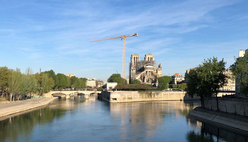 Notre Dame Paris April2020