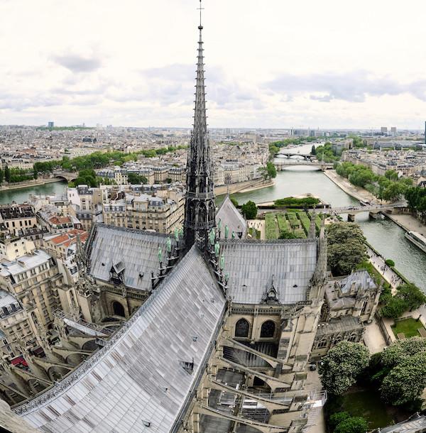 Notre Dame de Paris Spitzturm