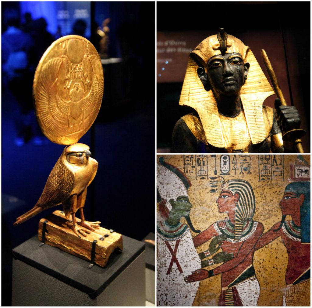Große Tutanchamun-Ausstellung Paris