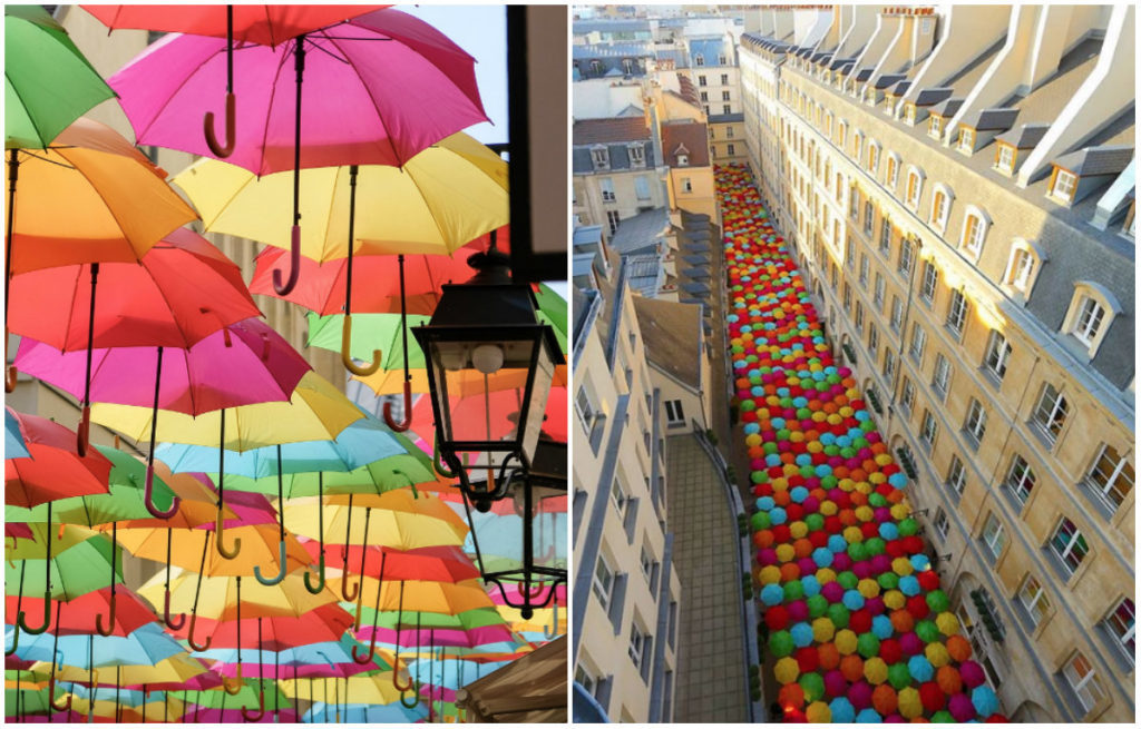 Paris Parapluies Village Royal