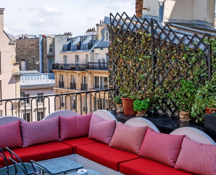 Rooftop The Shed Hotel Grands Boulevards Paris