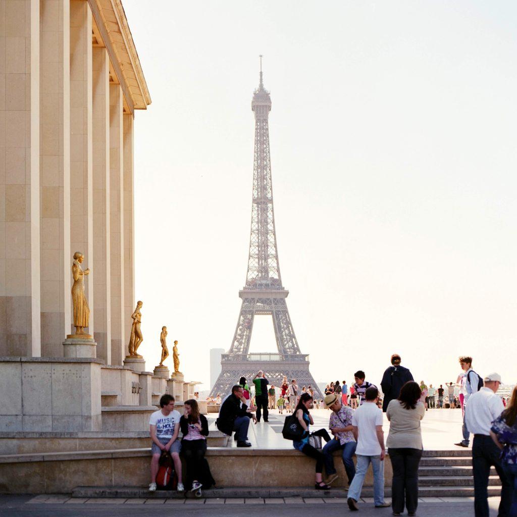 Trocadera Eiffelturm