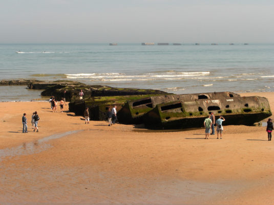 Plages débarquements Normandie