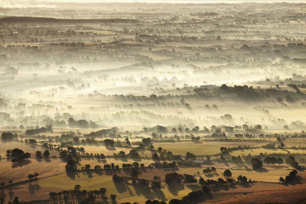 Bocage Luftaufnahmen von der Vendée