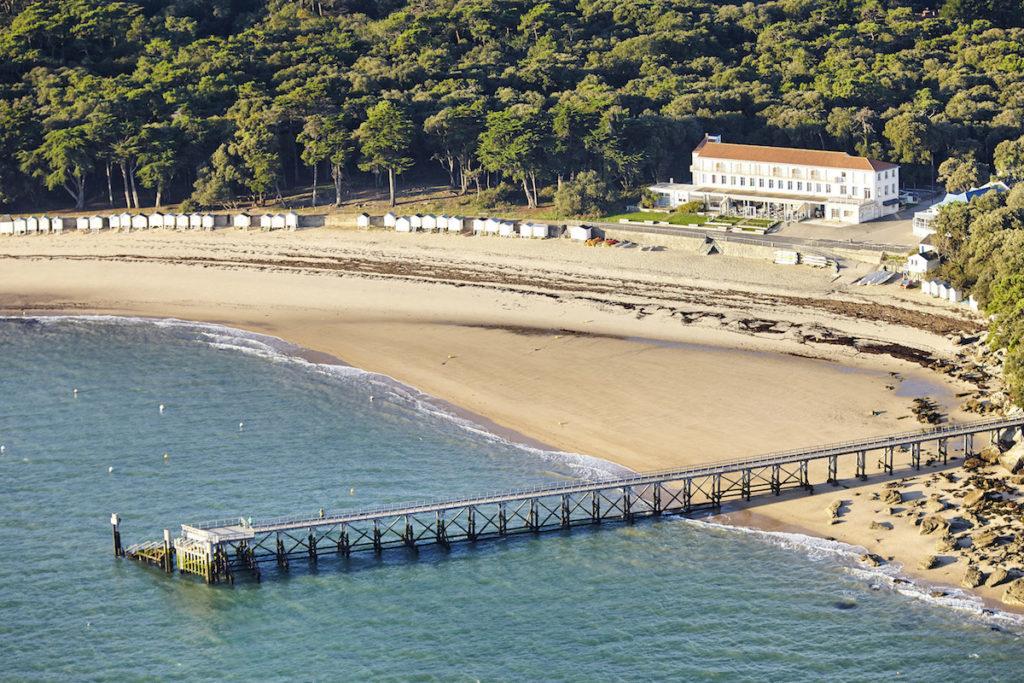 Plage des Dames Noirmoutier Luftaufnahmen von der Vendée