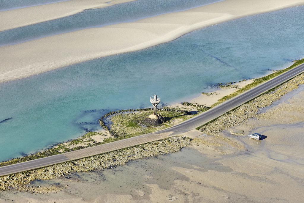 Passage du Gois Luftaufnahmen von der Vendée