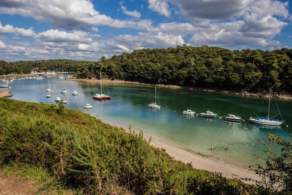 Ria de Belon Quimperlé Finistère