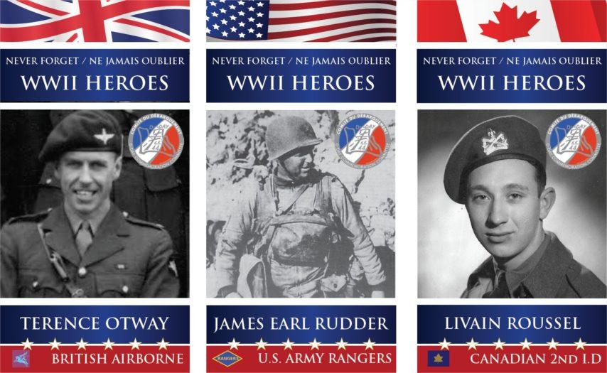 Soldaten Portraits Normandie D Day 75 jahren
