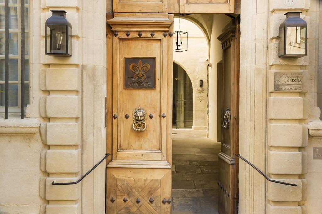 Maison d'Uzès Entrance