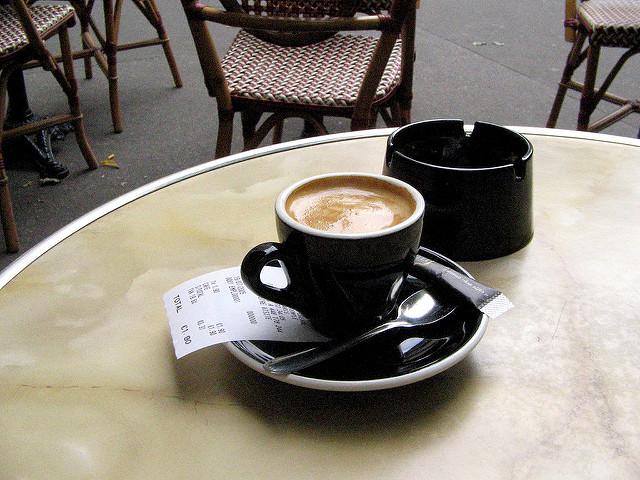 cafe espresso Paris