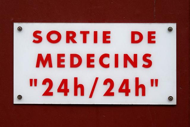 Arzt sortie des médecins