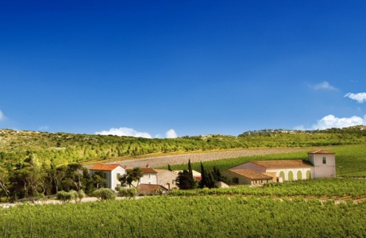 Wein hotel Chateau de l'Hospitalet Languedos Roussillon