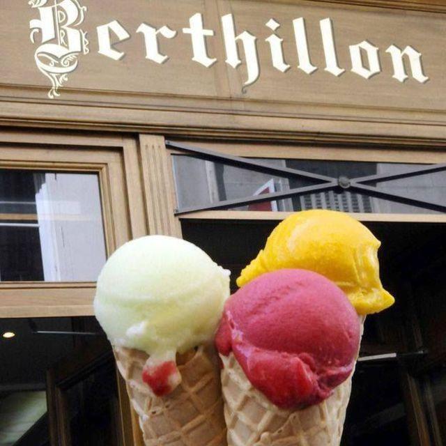 Berthillon Eisdielen von Paris