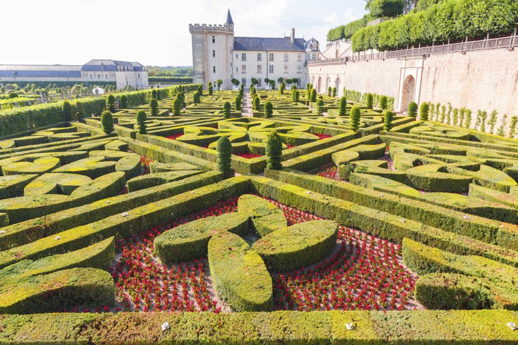 Chateau de Villandry Loire Da Vinci