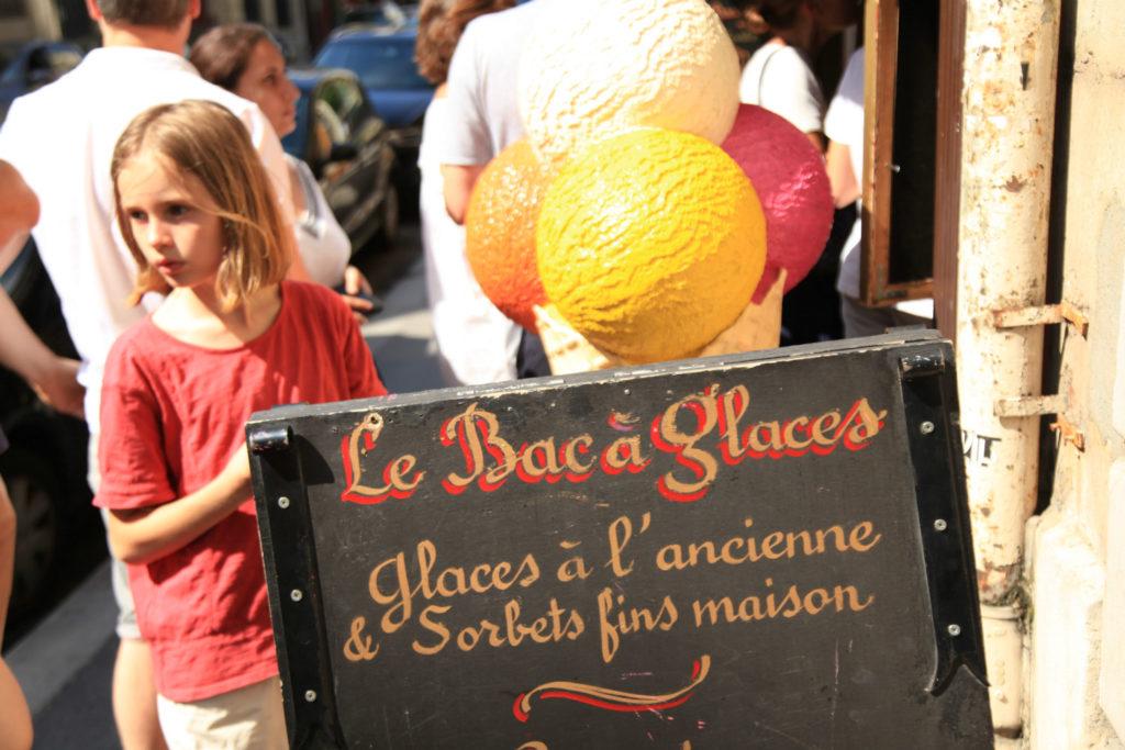 Le Bac à glaces Saint Germain Eisdielen von Paris