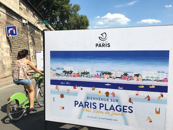 Paris Plage Sommer 2019