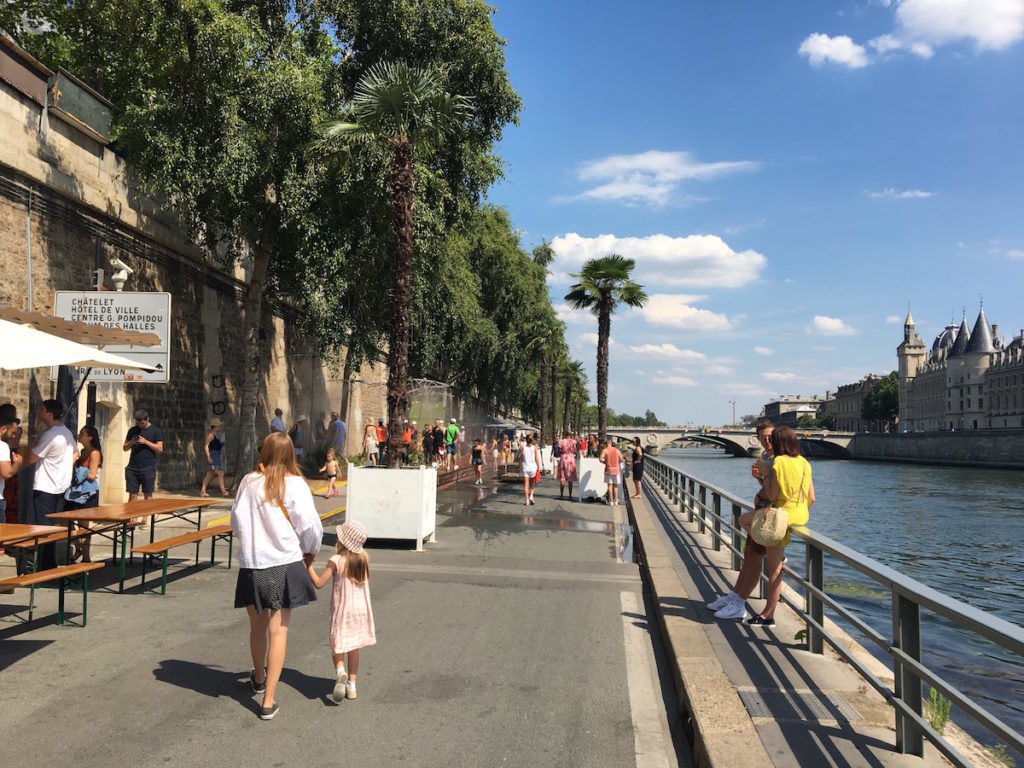 Paris Plage Sommer