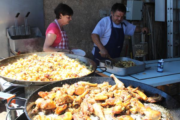 Dordogne Lot Sommer-Abendmärkte Marché Gourmand