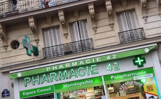 Französischen Apotheke beauty Produkte