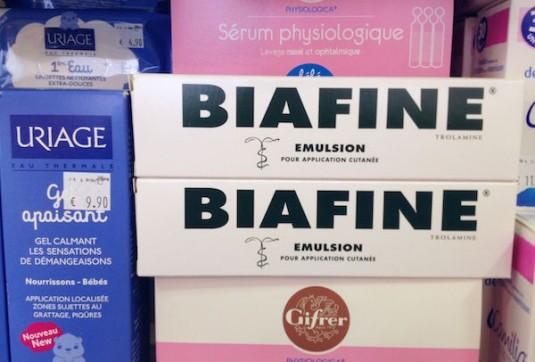 Französischen Apotheke beauty Produkte Biafine