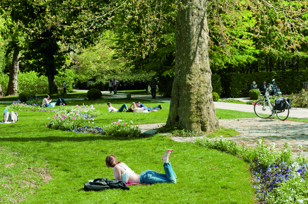 Picknickplätze in Paris Parc de Bercy