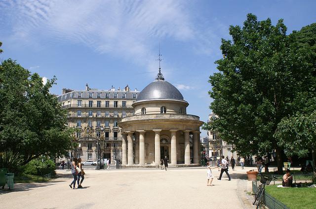 Picknickplätze in Paris Parc Monceau