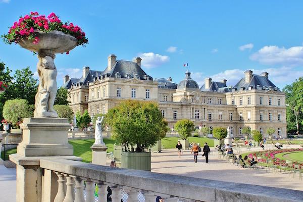 Picknickplätze in Paris Jardin du Luxembourg