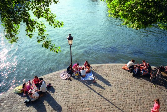 Picknickplätze in Paris Ile Saint Louis